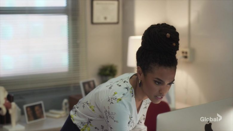 "Apple iMac Computer Used by Freema Agyeman as Dr. Helen Sharpe in New Amsterdam Season 2 Episode 3 ""Replacement"" (2019) - TV Show Product Placement"