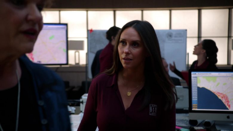 Apple iMac Computer Used by Jennifer Love Hewitt as Maddie Buckley Kendall in 9-1-1 - Season 3, Episode 2, Sink or Swim (2019) - TV Show Product Placement