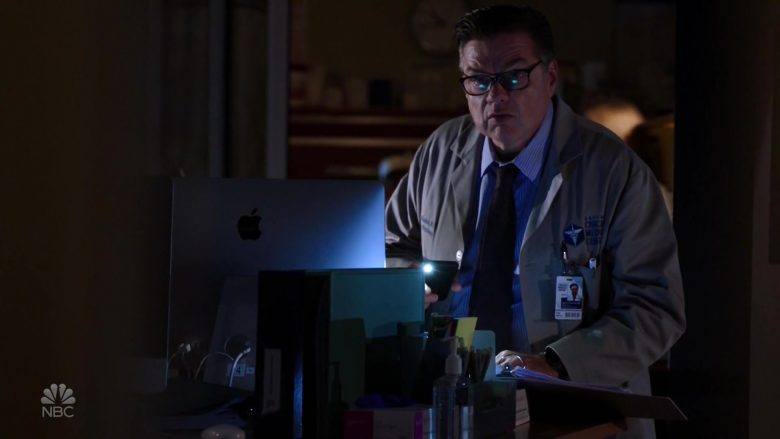Apple iMac Computer Used by Oliver Platt as Dr. Daniel Charles in Chicago Med