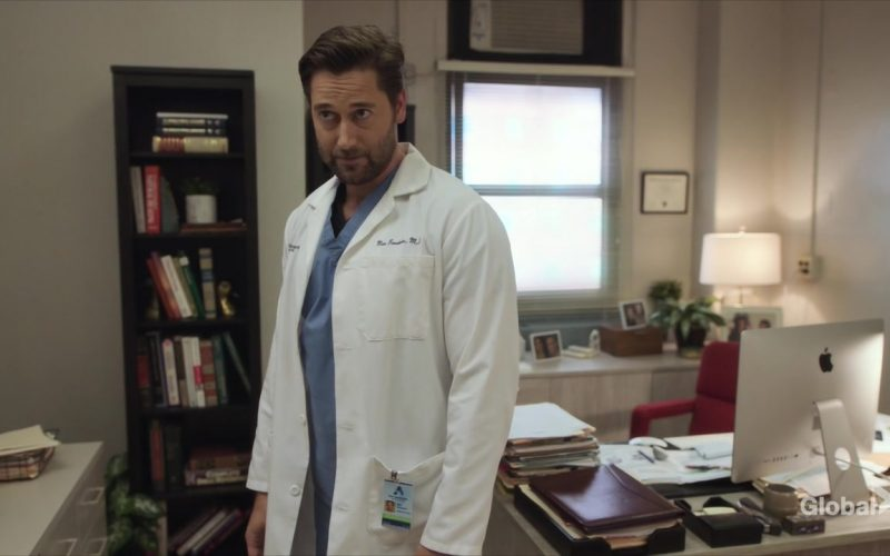 Apple iMac Computer Used by Ryan Eggold as Dr. Max Goodwin