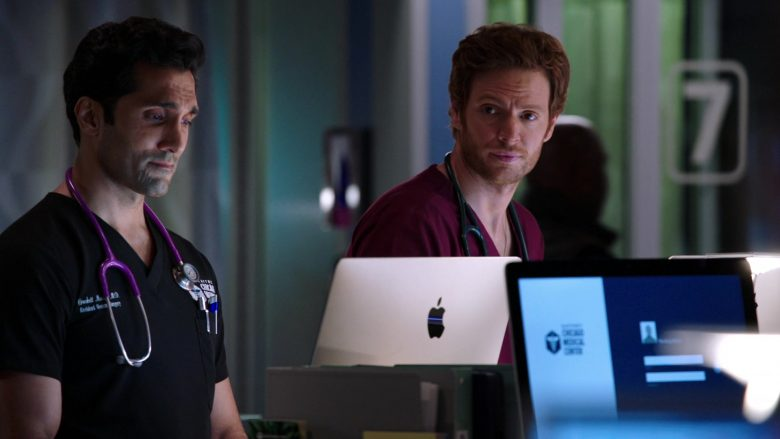 Apple iMac Computers Used by Nick Gehlfuss and Dominic Rains in Chicago Med Season 5 Episode 6 (2)