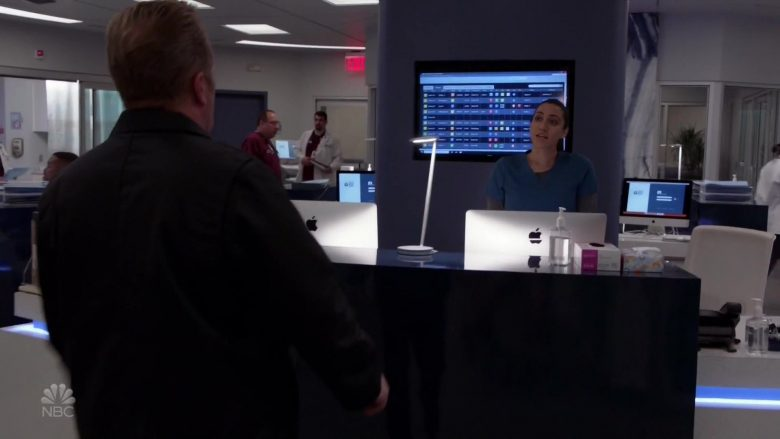 "Apple iMac Computers in Chicago Fire Season 8 Episode 5 ""Buckle Up"" (2019) - TV Show Product Placement"