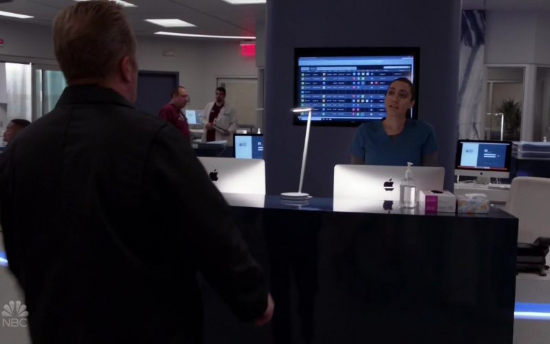 Apple iMac Computers in Chicago Fire Season 8 Episode 5 Buckle Up