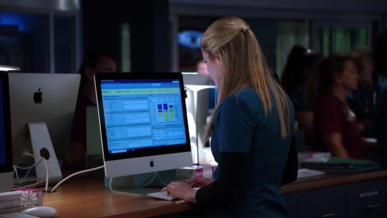 Apple iMac Computers in Chicago Med Season 5 Episode 5 (1)