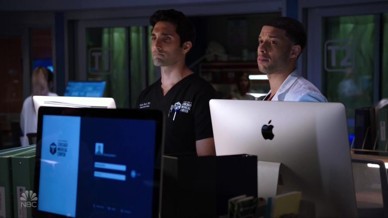 Apple iMac Computers in Chicago Med Season 5 Episode 5 (3)