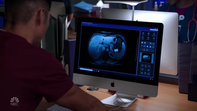 Apple iMac Computers in Chicago Med Season 5 Episode 5 (5)