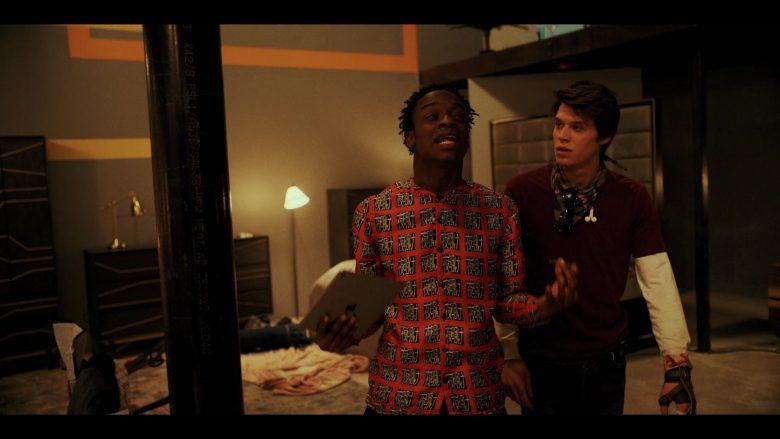 Apple iPad Tablet Used by Austin Crute as Wesley Fists in Daybreak Season 1 Episode 5