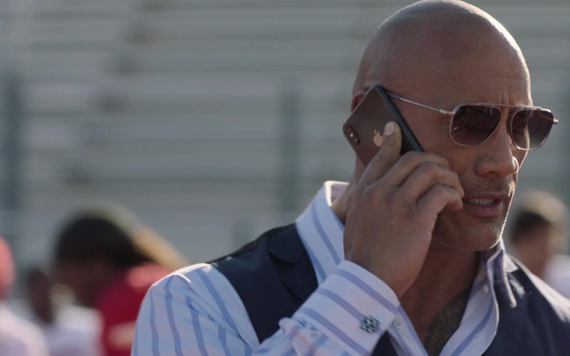 Apple iPhone Cell Phone Used by Dwayne Johnson as Spencer Strasmore in Ballers (3)