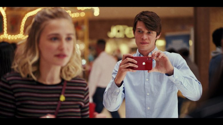 Apple iPhone Red Smartphone Used by Colin Ford as Josh Wheeler in Daybreak Season 1 Episode 1 Josh vs. the Apocalypse Part 1 (1)