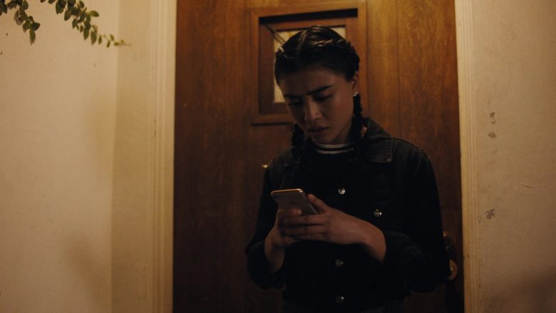 Apple iPhone Smartphone Used by Brianne Tju as Alex Portnoy in Light as a Feather - Season 2, Episode 10, ... Trapped as a Rat (2019) - TV Show Product Placement