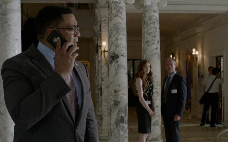 Apple iPhone Smartphone Used by Harry Lennix as Harold Cooper in The Blacklist
