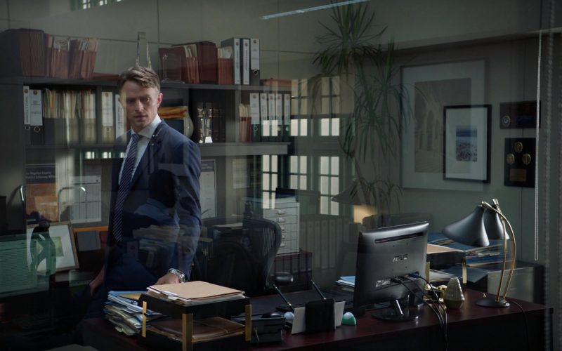 Asus Computer Monitor Used by Wilson Bethel as Mark Callan in All Rise