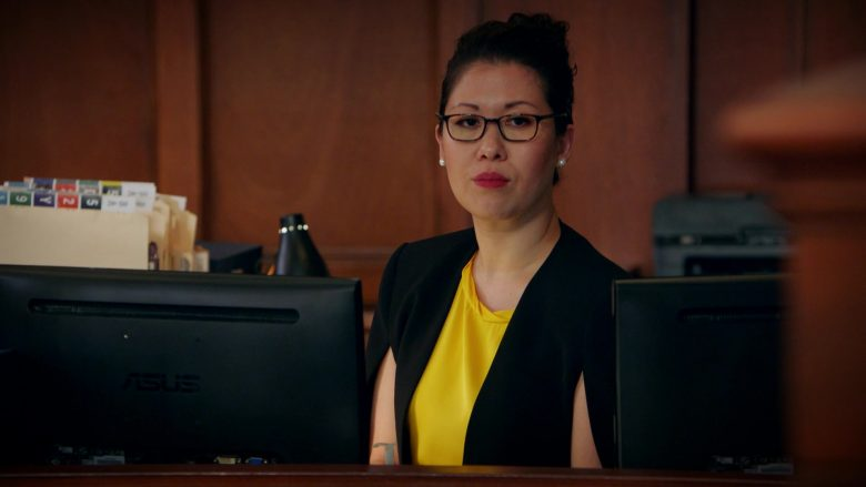 Asus Monitor Used by Ruthie Ann Miles as Sherri Kansky in All Rise