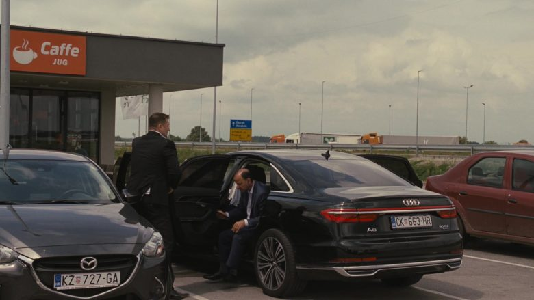 """Audi A8 50 TDI Car in Succession Season 2 Episode 10 """"This Is Not for Tears"""" (2019) - TV Show Product Placement"""