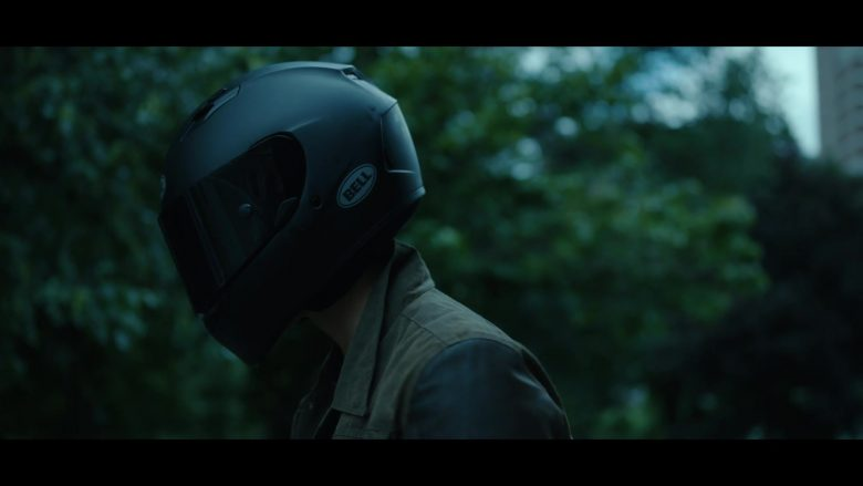 """Bell Motorcycle Helmet Worn by Brenton Thwaites as Richard 'Dick' Grayson / Robin / Nightwing in Titans Season 2 Episode 7 """"Bruce Wayne"""" (2019) - TV Show Product Placement"""