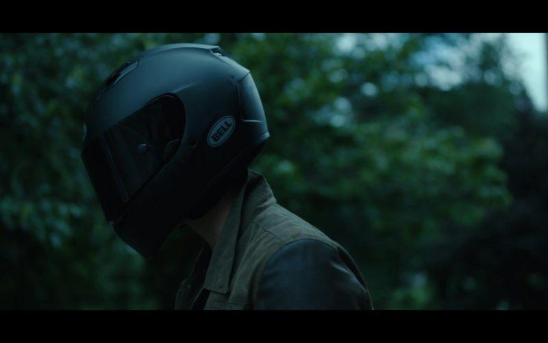 Bell Motorcycle Helmet Worn by Brenton Thwaites