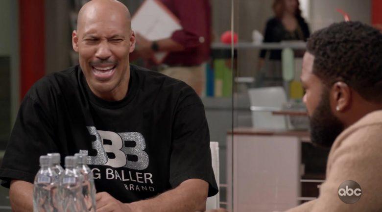 Big Baller Brand T-Shirt in Black-ish Season 6 Episode 4 (2)