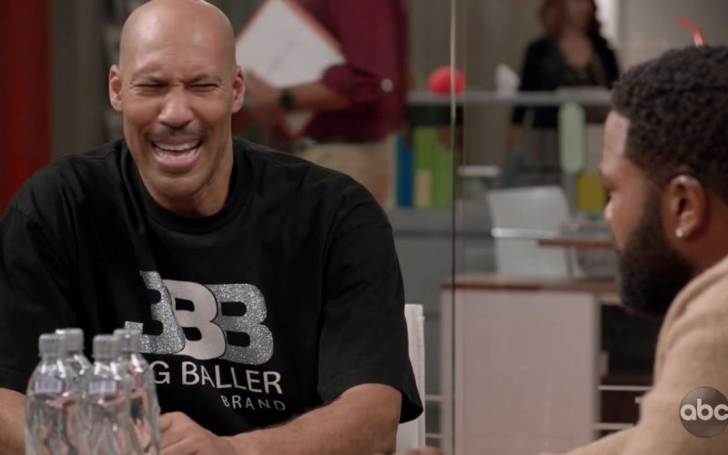 Big Baller Brand T-Shirt in Black-ish Season 6 Episode 4 (2)