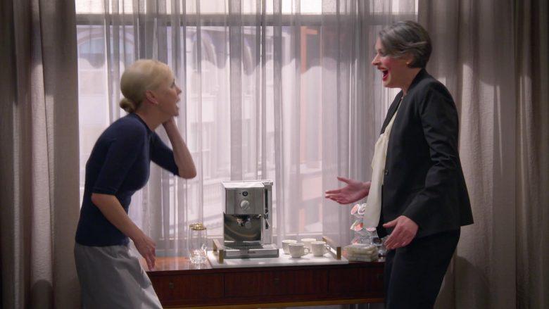 Breville Coffee Maker in Mom Season 7 Episode 3