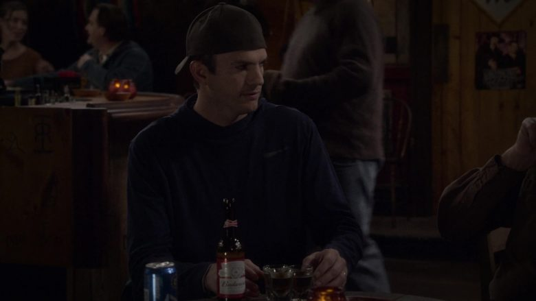 Budweiser Beer Enjoyed by Ashton Kutcher as Colt Reagan Bennett in The Ranch Season 4 Episode 6
