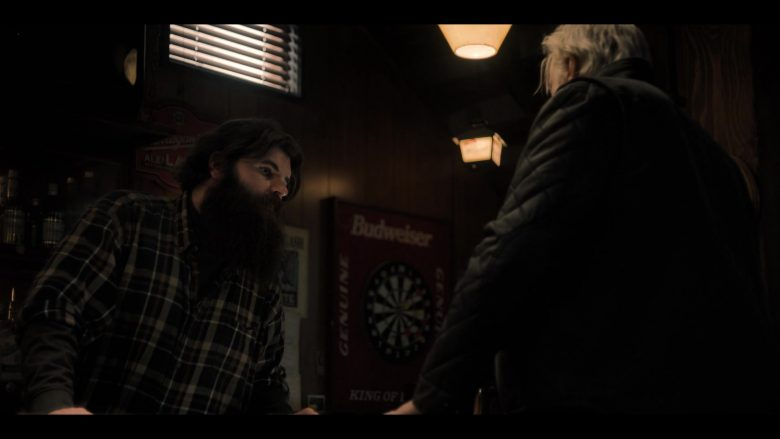 "Budweiser Poster in Castle Rock Season 2 Episode 2 ""New Jerusalem"" (2019) - TV Show Product Placement"