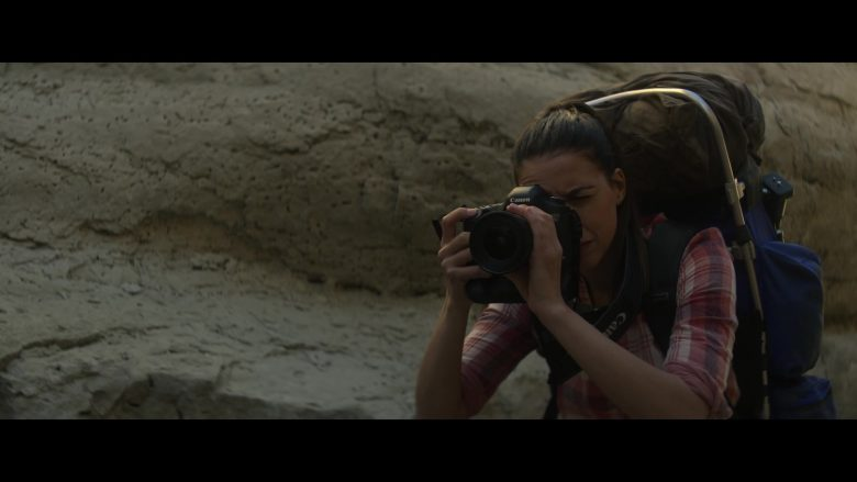 Canon Camera in Rattlesnake (2019) - Movie Product Placement