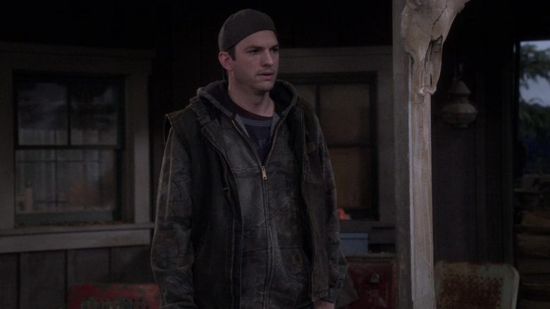 """Carhartt Hoodie Worn by Ashton Kutcher as Colt Reagan Bennett in The Ranch Season 4 Episode 10 """"Perfect Storm"""" (2019) - TV Show Product Placement"""