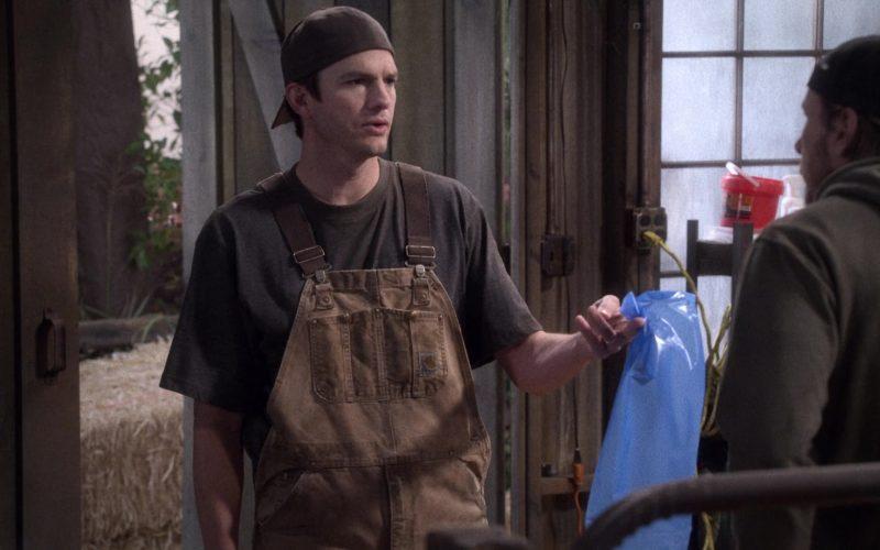 "Carhartt Overalls Worn by Ashton Kutcher as Colt Reagan Bennett in The Ranch Season 4 Episode 3 ""Waitin' on a Woman"" (2)"