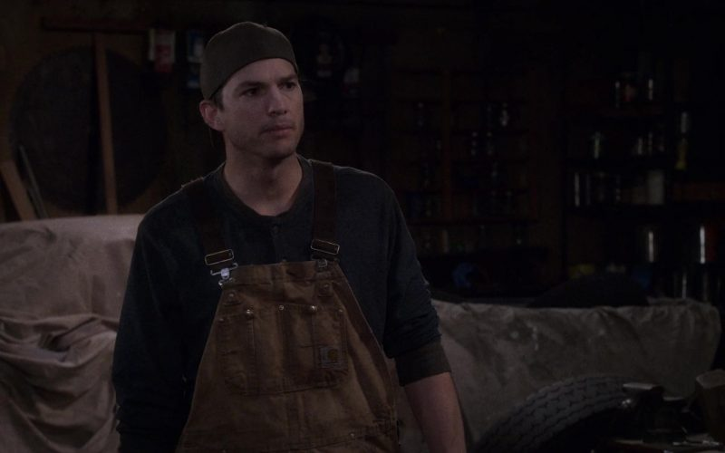 Carhartt Overalls Worn by Ashton Kutcher as Colt Reagan Bennett in The Ranch Season 4 Episode 4 (1)