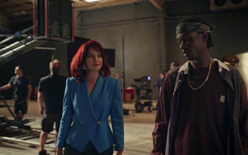 Carhartt T-Shirt Worn by Ashton Sanders as Bobby Diggs in Wu-Tang An American Saga Season 1 Episode 8 (5)