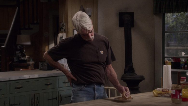 Carhartt T-Shirt Worn by Sam Elliott and Home Pride Bread in The Ranch (1)
