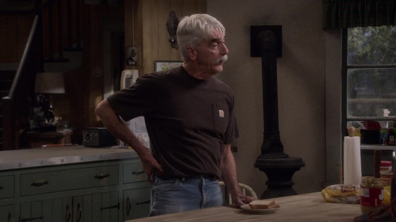 Carhartt T-Shirt Worn by Sam Elliott and Home Pride Bread in The Ranch (2)