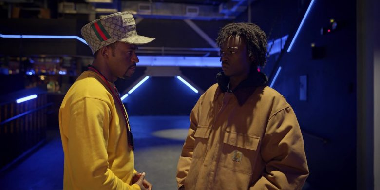 """Carhartt Yellow Jacket Worn by Ashton Sanders as Bobby Diggs in Wu-Tang: An American Saga Season 1 Episode 8 """"Labels"""" (2019) - TV Show Product Placement"""
