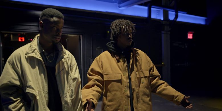 Carhartt Yellow Jacket Worn by Ashton Sanders as Bobby Diggs in Wu-Tang An American Saga Season 1 Episode 8 (6)