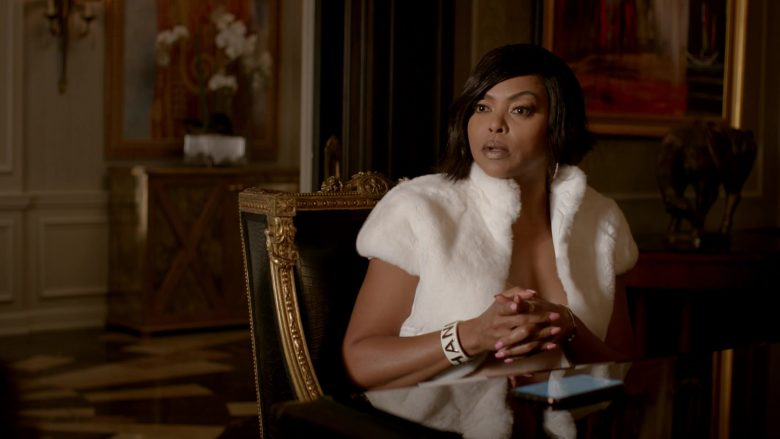 Chanel Cuff Bracelet Worn by Taraji P. Henson as Loretha 'Cookie' Lyon in Empire (1)