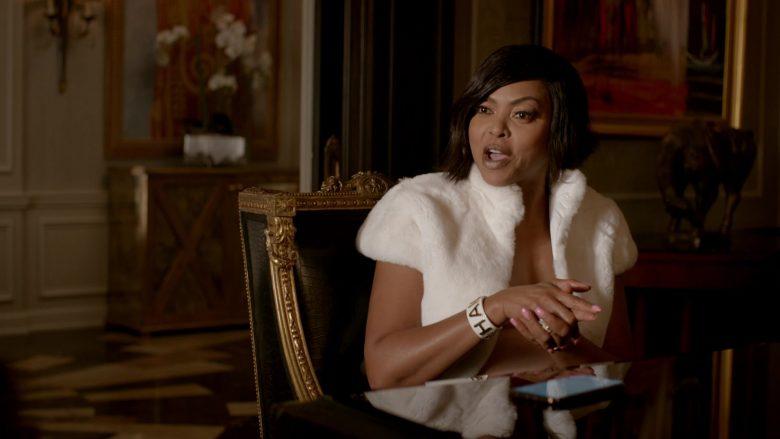 Chanel Cuff Bracelet Worn by Taraji P. Henson as Loretha 'Cookie' Lyon in Empire (2)