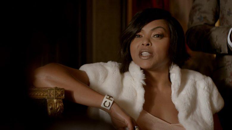 "Chanel Cuff Bracelet Worn by Taraji P. Henson as Loretha 'Cookie' Lyon in Empire Season 6 Episode 3 ""You Broke Love"" (2019) - TV Show Product Placement"