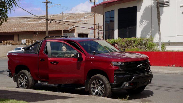 Chevrolet Silverado Silverado 1500 LT Z71 Red Car in Hawaii Five-0 Season 10 Episode 3 (2019) - TV Show Product Placement