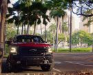 Chevrolet Silverado Red Car in Hawaii Five-0 Season 10 Episode 3 (4)