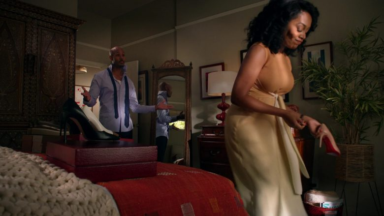 Christian Louboutin Pumps Held by Simone Missick as Judge Lola Carmichael in All Rise (1)