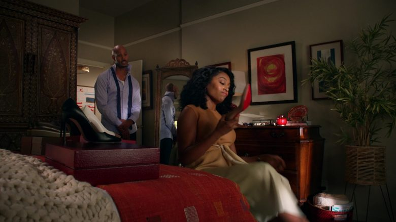Christian Louboutin Pumps Held by Simone Missick as Judge Lola Carmichael in All Rise (2)