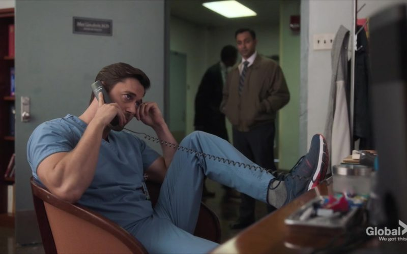 Cisco Phone Used by Ryan Eggold as Dr. Max Goodwin in New Amsterdam Season 2 Episode 5
