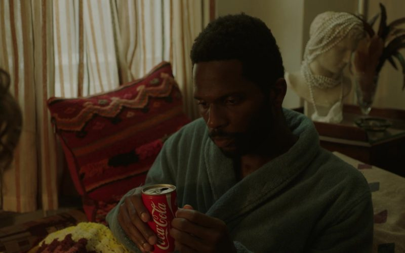 Coca-Cola Drink Enjoyed by Gary Carr as C.C. in The Deuce Season 3 Episode 6 (1)