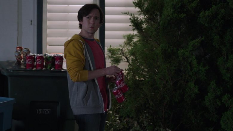 "Coca-Cola and Mountain Dew Drinks Enjoyed by Josh Brener as Nelson 'Big Head' Bighetti in Silicon Valley Season 6 Episode 1 ""Artificial Lack of Intelligence"" (2019) - TV Show Product Placement"