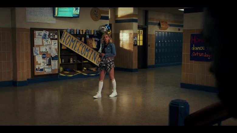 """Converse Sneakers Worn by Sophie Simnett as Samaira 'Sam' Dean in Daybreak Season 1 Episode 5 """"Homecoming Redux or My So Called Stunt Double Life"""" (2019) - TV Show Product Placement"""