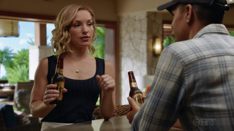"Coors Beer Enjoyed by Perdita Weeks as Juliet Higgins & Jay Hernandez as Thomas Magnum in Magnum P.I. Season 2 Episode 3 ""Knight Lasts Forever"" (2019) - TV Show Product Placement"