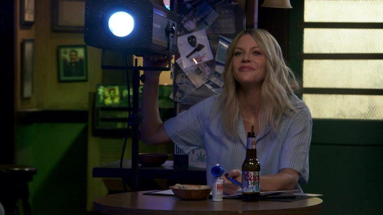 Coors Light Beer Enjoyed by Kaitlin Olson as Deandra 'Sweet Dee' Reynolds in It's Always Sunny in Philadelphia
