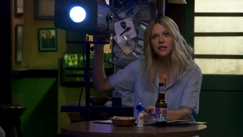 Coors Light Beer Enjoyed by Kaitlin Olson as Deandra 'Sweet Dee' Reynolds in It's Always Sunny in Philadelphia (3)