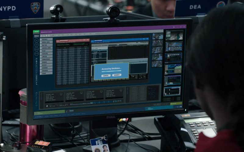 Dell Monitor in FBI Season 2 Episode 3 American Idol (1)