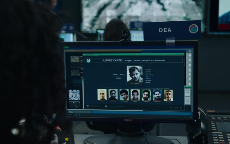 Dell Monitor in FBI Season 2 Episode 5 Crossroads
